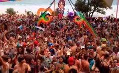 x-noize live Masqued Ball psytrance 2014