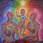 Alex Grey Holy Family